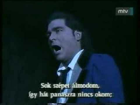 Rodolfo's - Peter Kelen Che gelida manina Rodolfo's aria from La Bohème Puccini Hungarian State Opera.