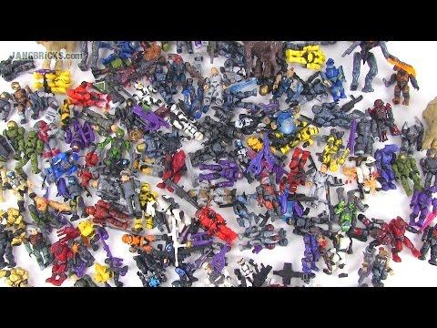 EPIC Mega Bloks Halo set & figures haul!  📦 #78