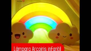 Lámpara Arcoiris para niños