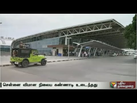 Chennai-airport--Shattering-of-glass-panels-for-the-58th-time