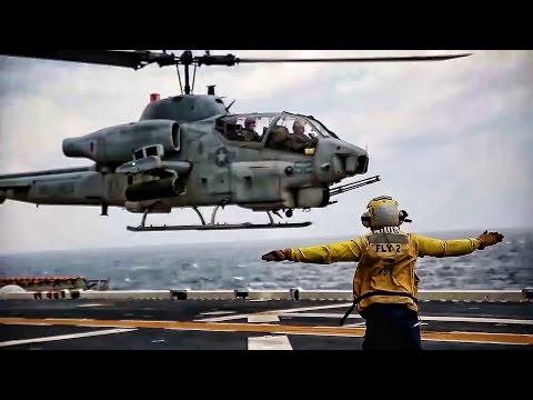 AH-1W Super Cobras and CH-53E Super...