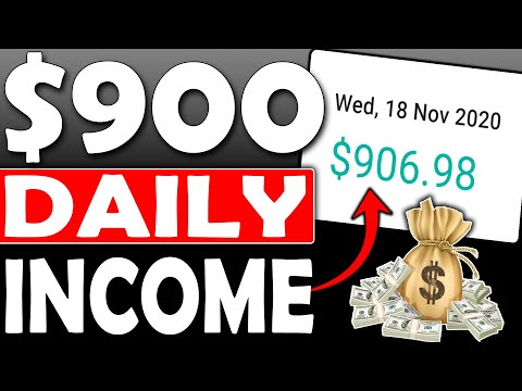 Earn $900 Daily In Passive Income as a BROKE BEGINNER (Make Money Online)