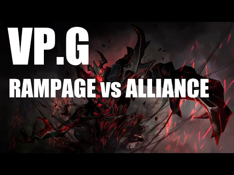 VP.G Rampage vs Alliance The Frankfurt Major