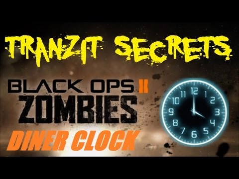 Tranzit Zombies Secrets: Jet Gun the Diner Clock for the Easter Egg Continuation! NOT!