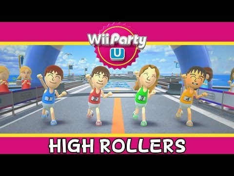 Wii Party U - High Rollers - Party Mode