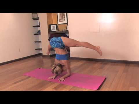 Wide Leg Handstand Press Prep Techniques in Yoga with Kino MacGregor video