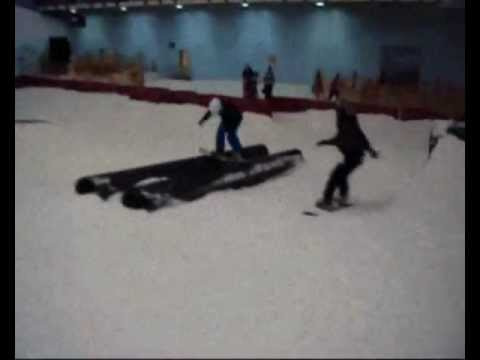 whitelegg - snowboarding at chill factore.