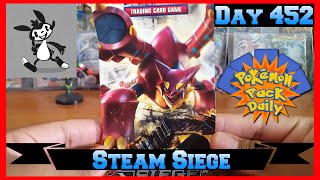 Pokemon Pack Daily Steam Siege Booster Opening Day 452 - Featuring Mayito's Picture Box by ThePokeCapital