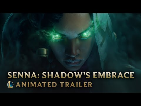 Senna: Shadow's Embrace | Champion Animated official Trailer - League of Legends