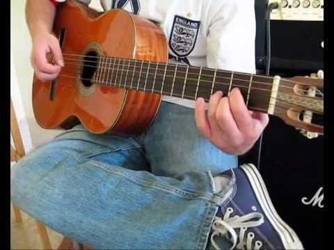 Video para aprender a tocar guitarra parte 1
