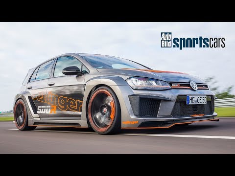 SUPERTEST: Fünfzylinder-Power im Oettinger Golf 500R! /0-200 km/h/Track-POV - AUTO BILD SPORTSCARS