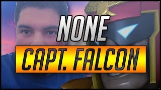 n0ne's Captain Falcon from 2015 til 2017