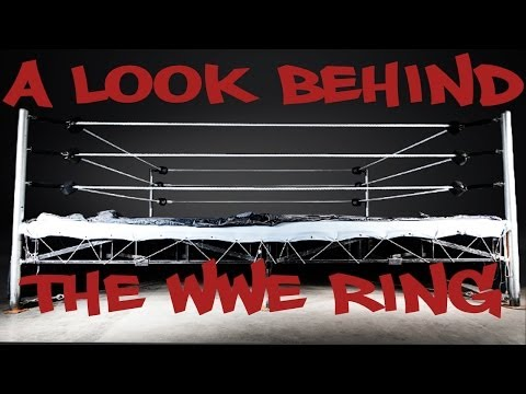 Constructing the WWE's ring - Timelapse