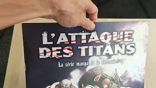 Kit presse l'Attaque des titans