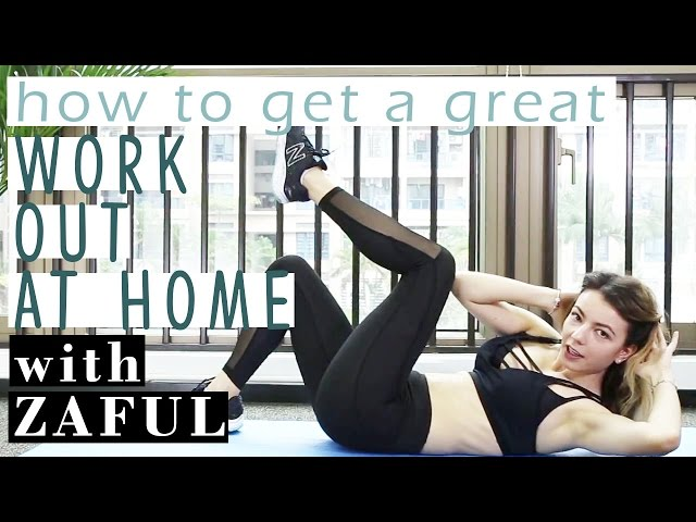 Totally Doable Full-Body Home Workout | Zaful