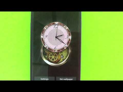 Video of Clockwork HD LWP: Jewels