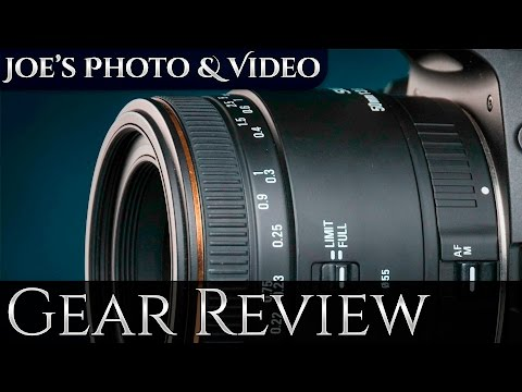 Sigma 50mm f/2.8 EX DG Macro Lens (On APS-C) - Gear Review