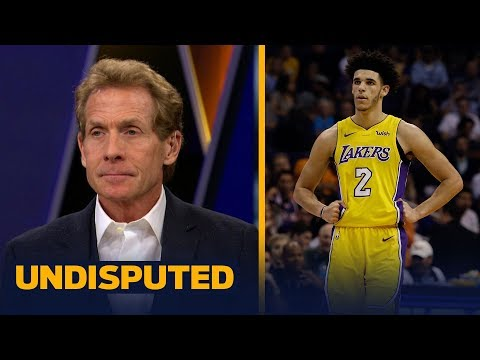 Skip and Shannon react to Lonzo Ball walking away from a scuffle against the Suns  UNDISPUTED