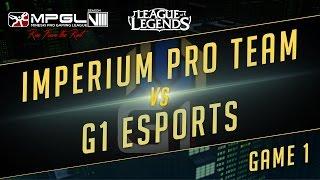 IPT vs G1, game 1