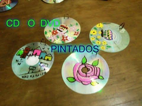 Decora tu cuarto con cds pintados
