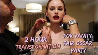 Video 2 hour vanity fair Oscar party transformation | Madelaine Petsch MP3, 3GP, MP4, WEBM, AVI, FLV Maret 2019