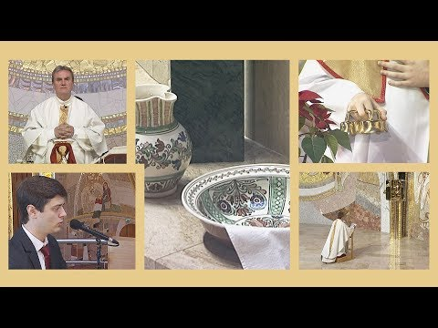 2020-04-09 2020-04-09 Nagycsütörtöki szentmise a Gazdagréti Szent Angyalok Plébánián