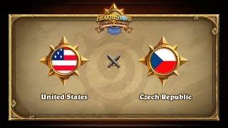 USA vs CZE, game 1