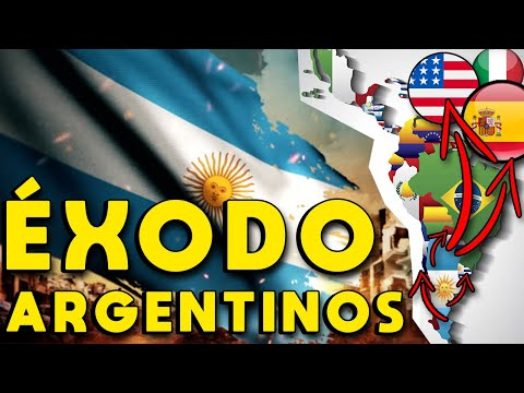 ÉXODO ARGENTINA: ARGENTINOS QUE DEJAN EL PAÍS, A DÓNDE EMIGRAN? | INMIGRANTES ARGENTINOS POR CRISIS