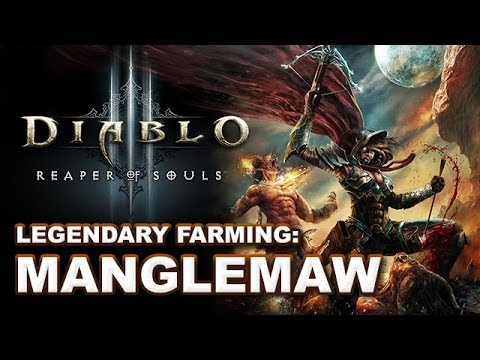 D3 - In this video I show off the newly discovered legendary farming method in Diablo 3 Reaper of Souls: Manglemaw! Myself and many others have had pretty good su...