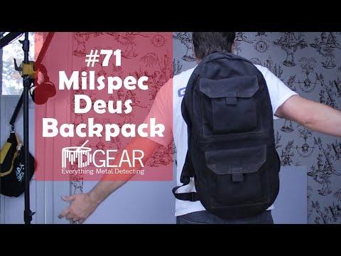 Metal Detecting Reviews #71 Milspec Deus Backpack