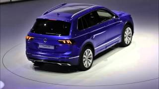 VW Tiguan 2016-2017: live pictures from the presentation in Frankfurt