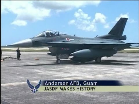 Historic F-2 Flight From Japan to Guam (2007) | AiirSource