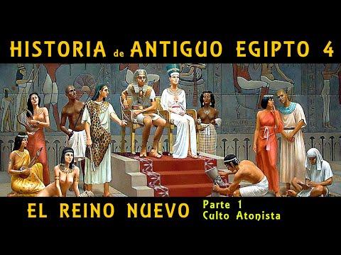 ANTIGUO EGIPTO 4: El Reino Nuevo (1ª parte) La reunificación y el culto atonista