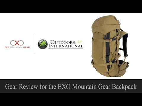 GEAR REVIEW: EXO Mountain Gear Backpack Review