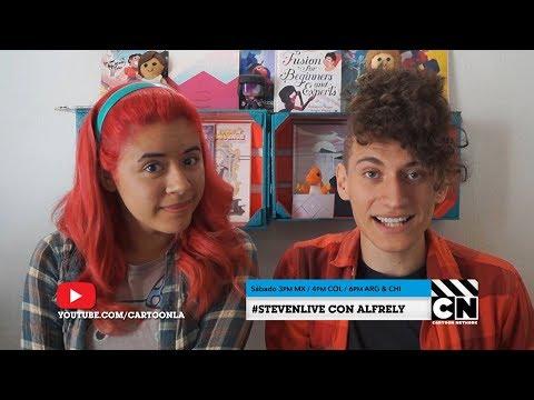 No te pierdas nuestro Steven Universe Live con Alfrely  Cartoon Network