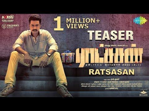 மிரட்ட வருகிறது  ராட்சசன்   Ratsasan  Official Teaser | ராட்சசன் | Vishnu Vishal, Amala Paul | Ramkumar | Ghibran |G.Dilli Babu