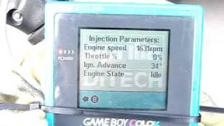 9. Using a GameBoy on an Aprilia SR50 DiTech