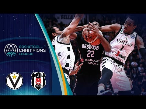 Virtus, gli highlights del match contro il Besiktas Sompo Japan