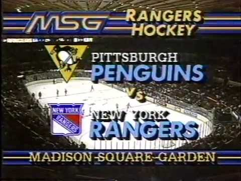 1987-88 RANGERS HOME OPENER