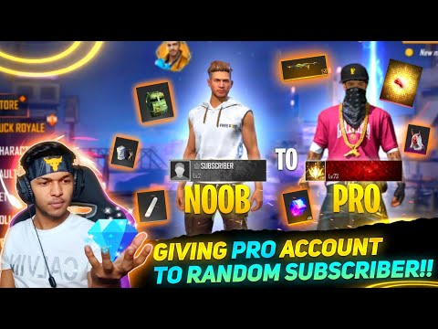 Free Fire New Account 0 Level To PRO In 5 Min [Account Giveaway] Garena Free Fire 2021