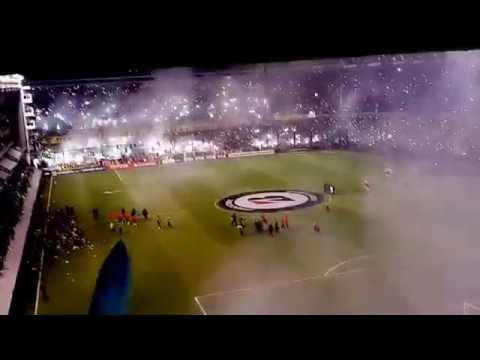 Video - Boca vs River 14/05/2015. Glorioso recibimiento. - La 12 - Boca Juniors - Argentina