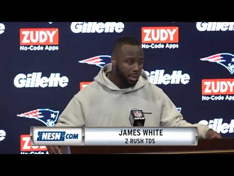 Video: James White Week 9 Patriots vs. Packers Postgame Press Conference