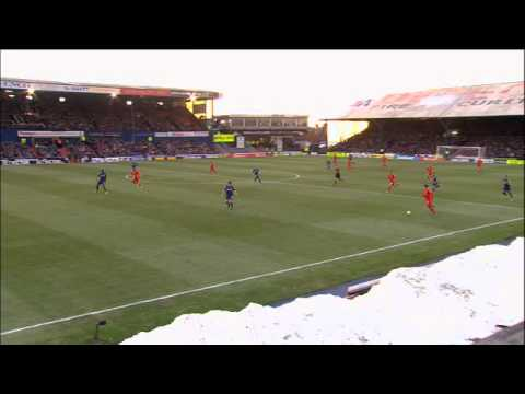 Suarez Goal | Oldham 3-2 Liverpool | The FA Cup 4th Round 2013