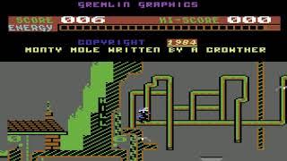 Monty Mole Longplay (C64) [50 FPS]