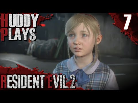 SAVE THE KID, SAVE THE WORLD| Let's Play| Resident Evil 2 Remake| Claire A| Part 7| Blind| PS4|