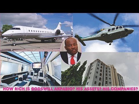 How rich is Godswill Akpabio ► All Godswill's Mansion, Cars, Companies, Real Estate & Luxuries