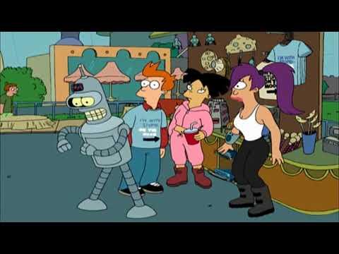 OzChomp Futurama S01E02 - Bender vs Magnets