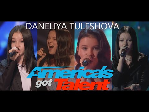 ALL OF DANELIYA TULESHOVA PERFORMANCES ON AMERICA'S GOT TALENT WITH JUDGE'S COMMENTS