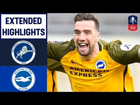 Late Goal DRAMA & Penalties! | Millwall 2-2 Brighton (4-5) | Emirates FA Cup 18/19