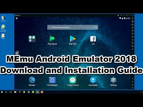 MEmu Play 2018 - Download and Install  Android Emulator on any Windows